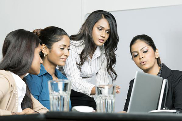 career woman lead